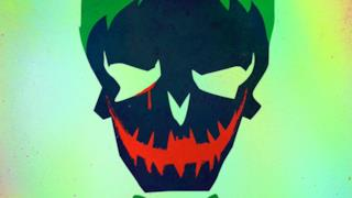 Il cartoon poster del Joker per Suicide Squad
