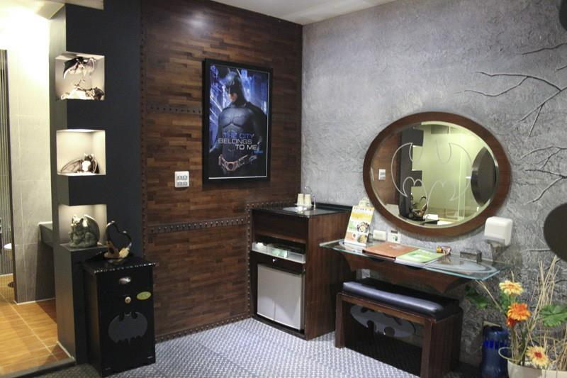 La Batman Suite dell'Eden Hotel a Taiwan