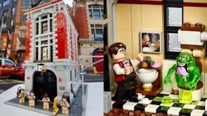 La Caserma LEGO dei Ghostbusters mostra cosa si nasconde al suo interno!