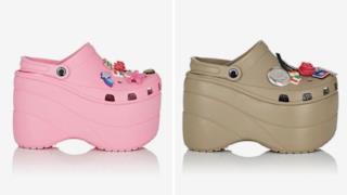 Le orribili Crocs di Balenciaga