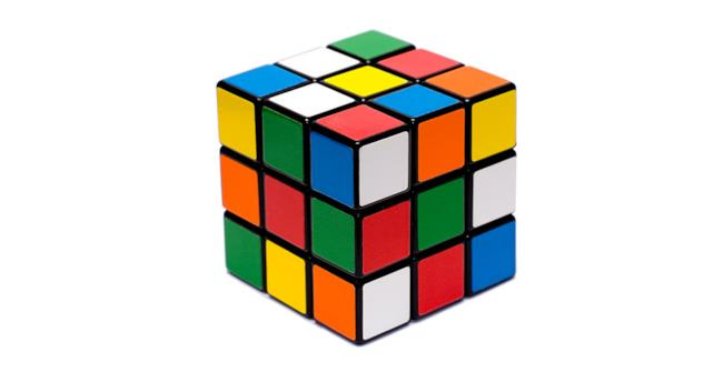 Un cubo di Rubik