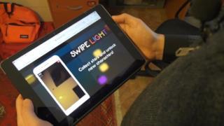 il videogioco Swipe Light