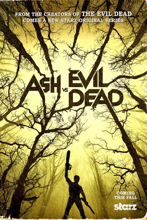 Il poster della serie TV Ash vs The Evil Dead