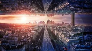 Foto modificata di una cittadina