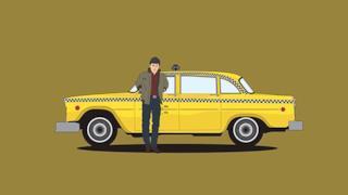 Il taxi del film