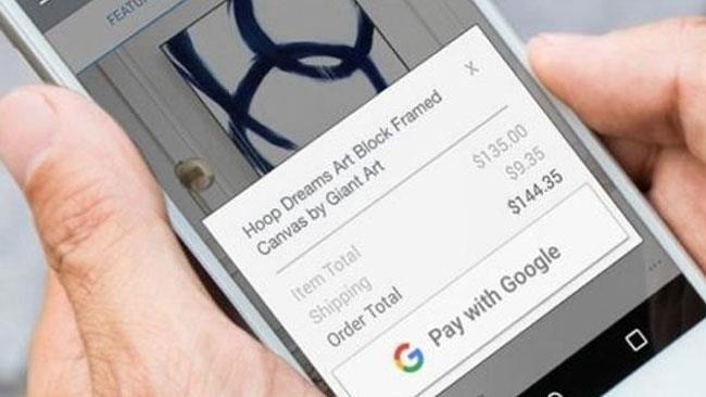 Una dimostrazione del nuovo servizio per pagamenti online Pay with Google