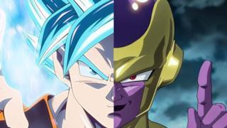 Goku e Freezer a confronto