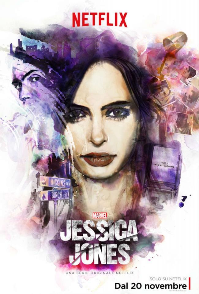 Netflix porta Jessica Jones in Italia il 20 novembre