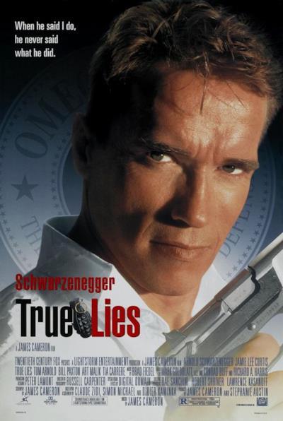 La locandina de True Lies