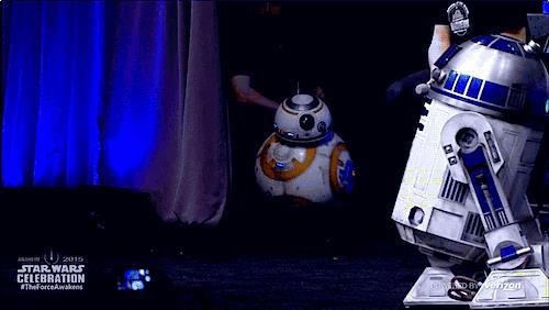I droidi alla Star Wars celebration