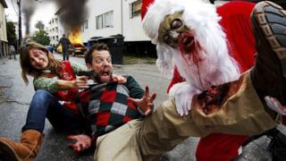 Uno zombie natalizio