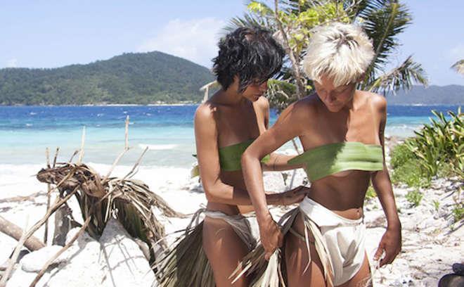Le Donatella si vestono a Playa Desnuda