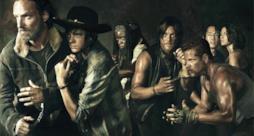 Il cast di The Walking Dead, nella quinta stagione