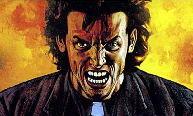 Copertina del fumetto Preacher