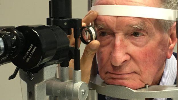 Douglas Waters si è sottoposto al trattamento sperimentale