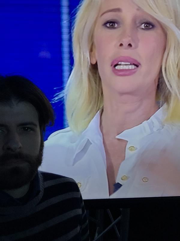 diodeglizilla si fa un selfie con la Marcizzi