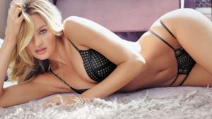Candice Swanepoel in intimo