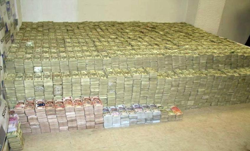 Pablo Escobar nascondeva il denaro in luoghi sconosciuti