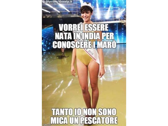 E chi ci pensa ai Marò? Miss Italia, ovviamente!