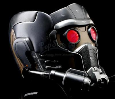 L'immagine dell'asta per il casco di Star-Lord