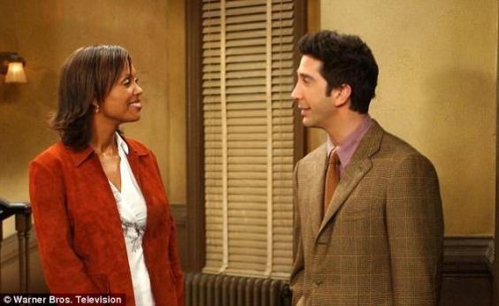 Ross e la sua fidanzata Julie.