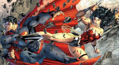 Wonder Woman pesta Superman
