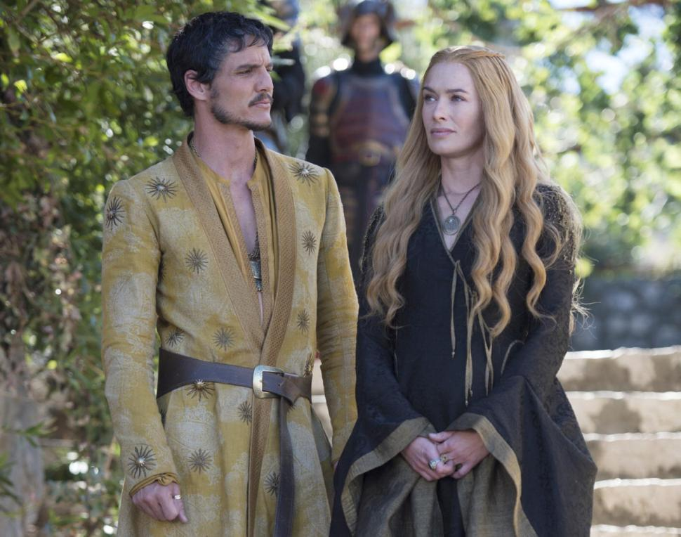 Cersei Lannister e Oberyn Martell