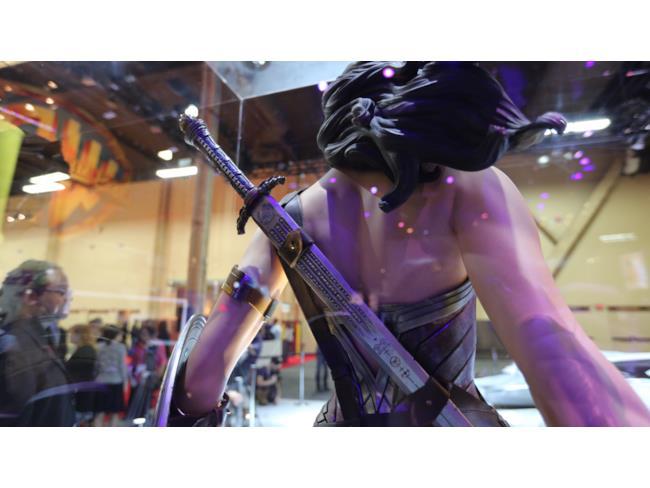 Le armi del costume di Wonder Woman in Dawn of Justice