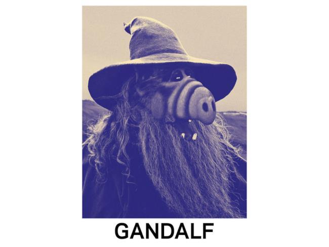 Mashup di Alf e Gandalf