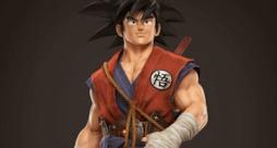 Goku realizzato in 3D in DBZTriibute