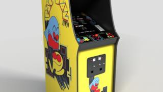 Il cabinet originale di Pac Man