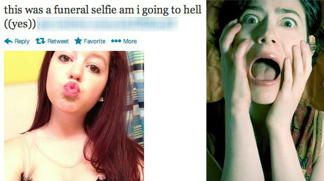 #Afterfuneral: la moda macabra del selfie post - funerale