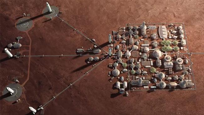 Il progetto Mars Science City