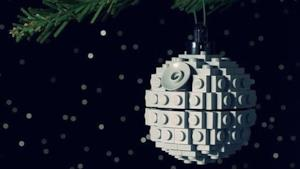 Una decorazione realizzata con i Lego.