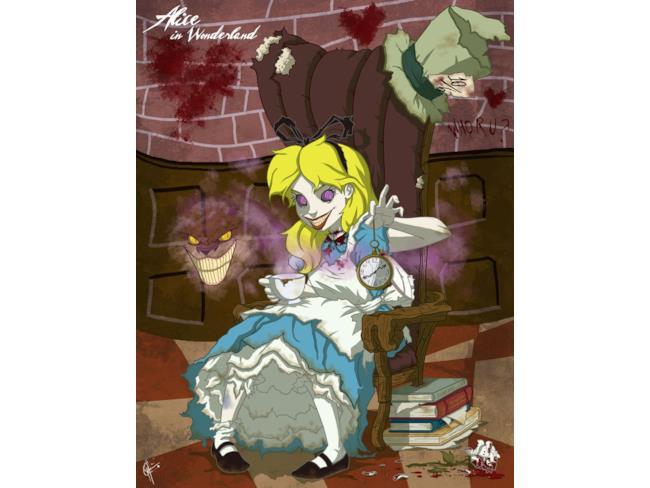 Alice diventata matta nel Paese delle Meraviglie
