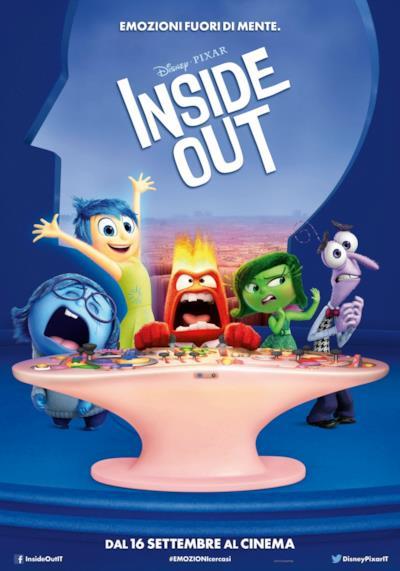 La locandina di Inside Out