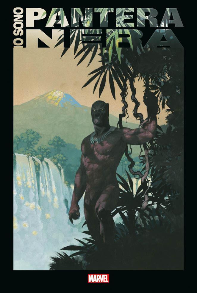 La copertina di Io sono Black Panther