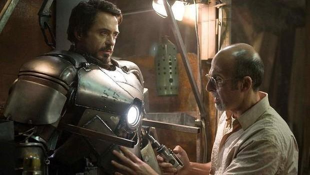 Robert Downey Jr nei panni di Iron Man nei film