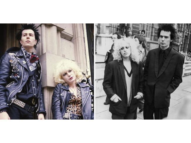 Gary Oldman e Chloe Webb nelle vesti di Sid Vicious e Nancy Spungen