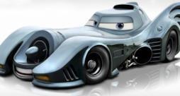 Una delle batmobili che sarebbe dovuta comparire in Cars 3