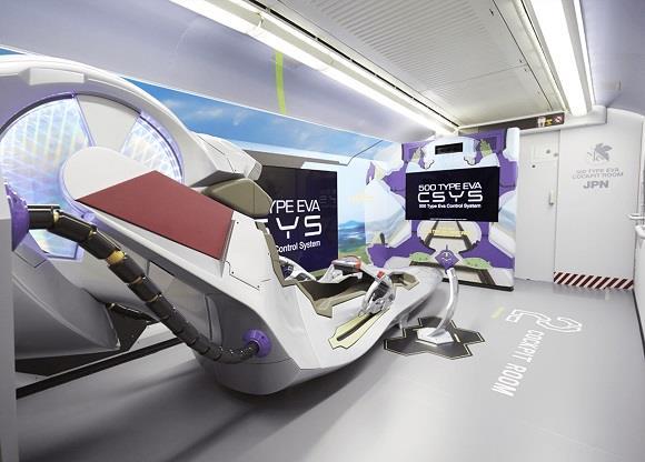 Una cabina di pilotaggio è inserita nel 500 Type Eva