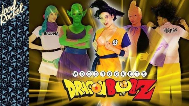Il cast di Dragon Boob Z