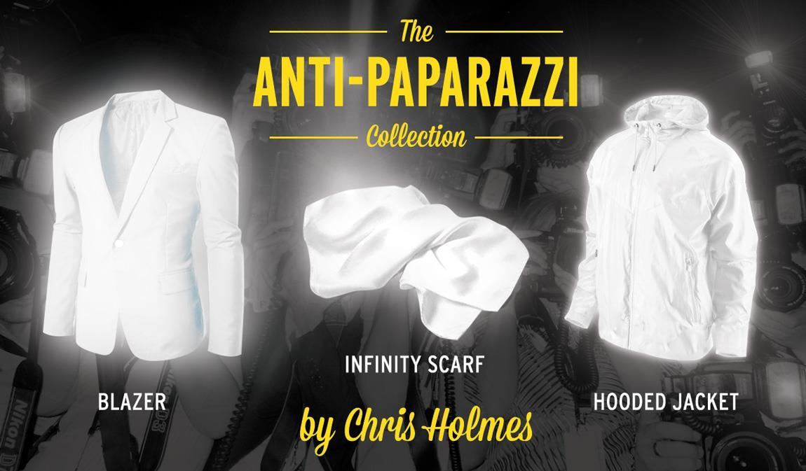 La collezione anti paparazzi presentata da Chris Holmes
