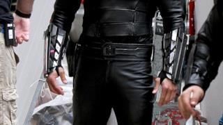 Il costume di Shredder in Tartarughe Ninja 2