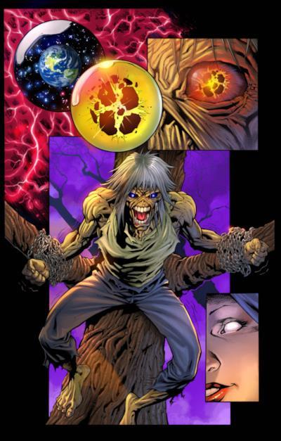 La ricerca dell'anima di Eddie nel fumetto a lui dedicato.
