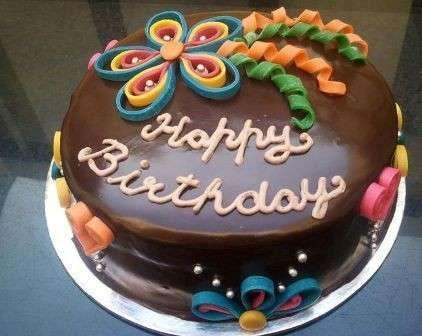 Una torta di compleanno - Immagini di buon compleanno, le più simpatiche da scaricare gratis
