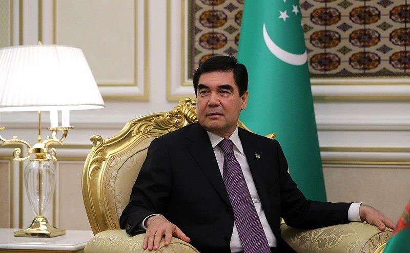 Il presidente del Turkmenistan
