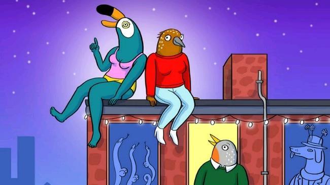 La prima immagine dei protagonisti