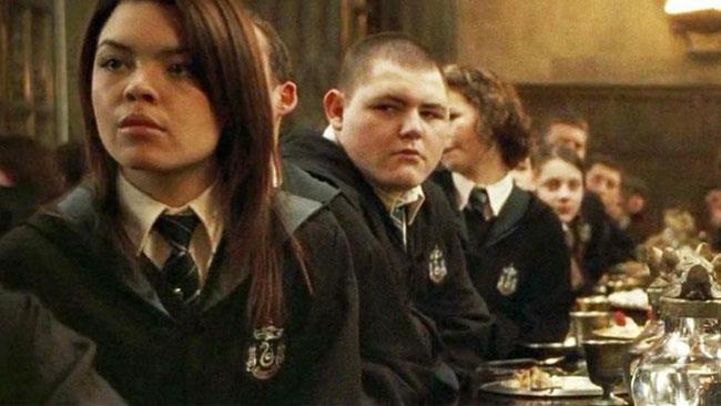 Scarlett Byrne in Harry Potter