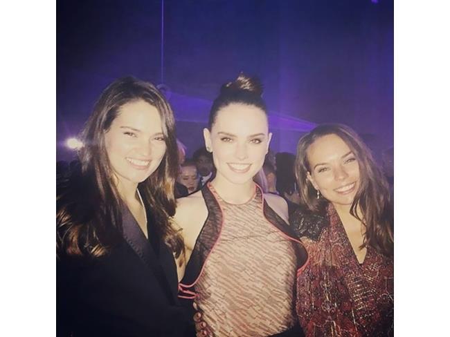 Le sorelle Ridley insieme